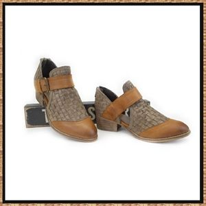 Rebels Woven Ankle Boots